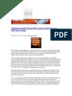 62979110 Membuat Sendiri Kirim SMS Gratis via Web Dengan PHP Dan MySQL