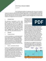 Development of Evopod Tidal Stream Turbine