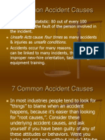 7 Common Accident Causes
