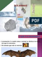 Locomoção dos Animais_a