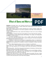 Effects of Dams & Weirs on Fisheries