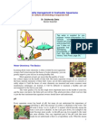 Management of Water Quality in Aquarium