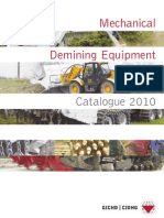 2010 Mechanical Demining Equipment
