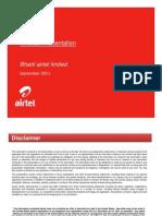 Airtel PPT Sep-11