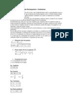 Sistema de Coordenadas Rectangulares o Cartesianas