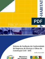 Norma SiAC (PBQP-H)