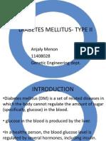 Diabetes Mellitus- Type II