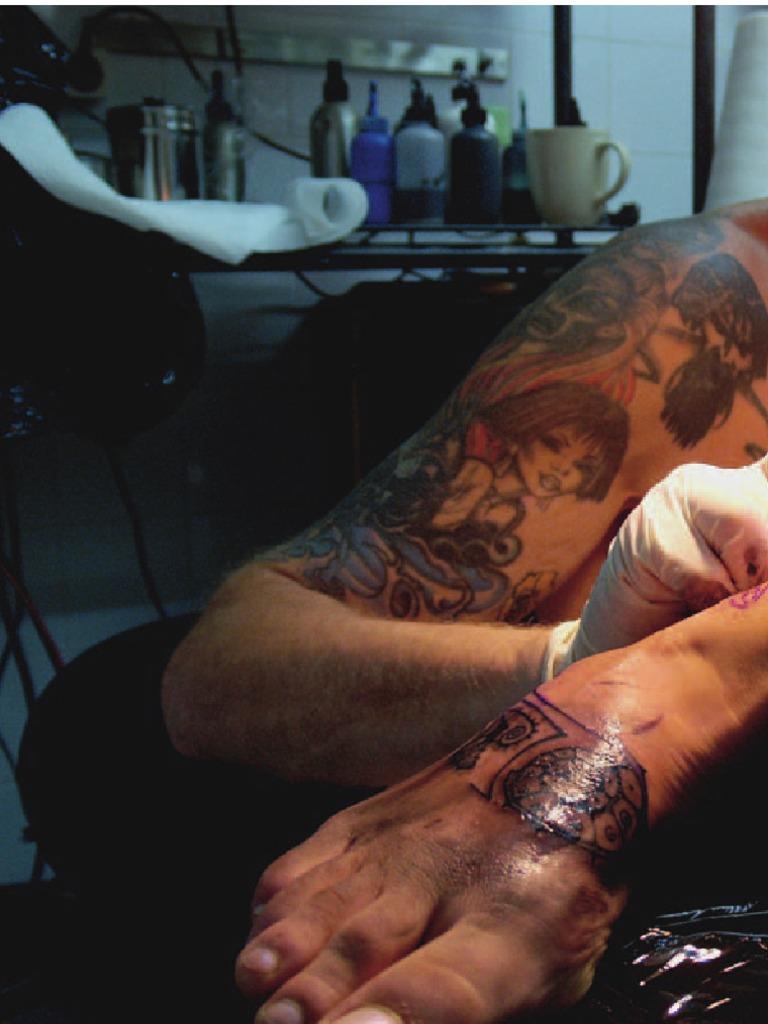 Tetování od A-Z of Tattooing