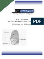 SQL Injection Whitepaper