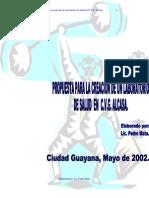 Lab Oratorio de Salud Cvg Alcasa