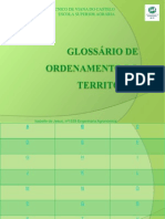 Glossário de ordenamento do território