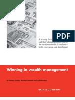 BainCompany-Brief Winning Wealth Management-2011