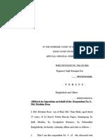 Affidavit in Opposition