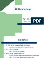 GI Hemorrhage