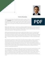 Obama Biography