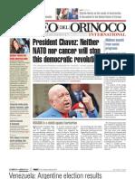 Correo del Orinoco English Edition COI87 October 28, 2011