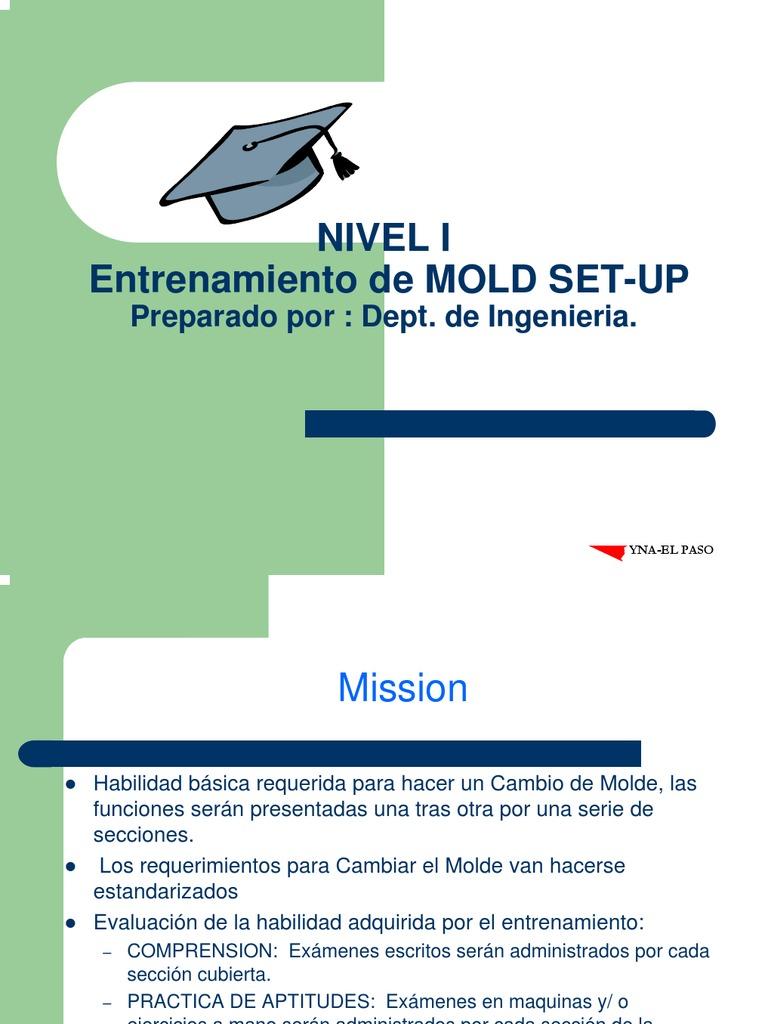 Level 1 Molding Training