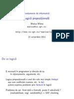 Curs3.PDF Logica Propozitionala