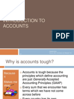 Introduction to Accounts