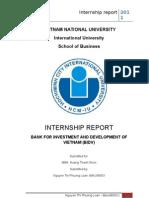 Internship Bidv Bo