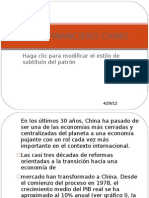 Sistema Financiero Chino
