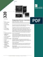 Eurotherm 3200 Series Controllers Datasheet