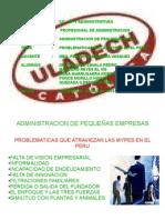 Problematic As Que Atraviesan Mypes Peru