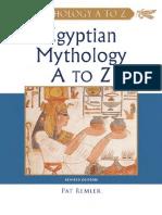 Egyptian Mythology a to Z (3rd Edition)