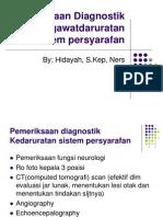 Pemeriksaan Diagnostik Kegawatdaruratan Sistem Persyarafan