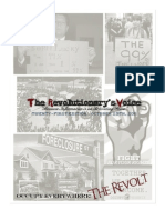 The Revolutionary's Voice - 21st Edition (Formerly the Ten Magazine) - October 29th, 2011 (Special - The Revolt)