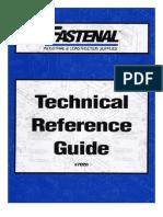 FastenalTechnicalReferenceGuide