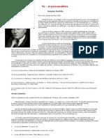 Derrida, Jacques- Yo El Psicoanalisis
