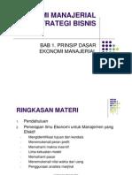 Ekonomi Manajerial Dan Strategi Bisnis