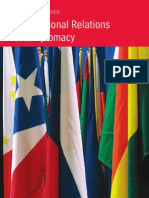 MSc Int. Relations and Diplomacy