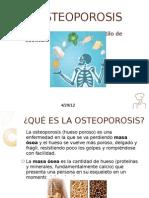 Gastronomia y Osteoporosis