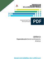 Especializacion Ceramica Artesanal y Artastica
