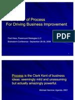 The Power of Process - Brainstorm Final