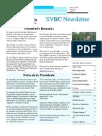 SVBC Newsletter Vol 1 No 2-Jan 2007