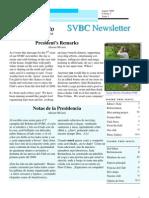 SVBC Newsletter Vol 3 No 1-Aug 2008