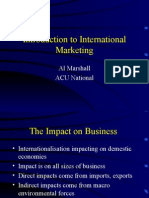 001 Intro to International Marketing
