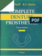 Complete Denture Prosthetics