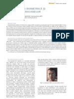 Identificarea Bio Metric A Si Circulatia Persoanelor 2008-09