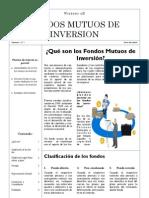 Fondos Mutuos de Inversion