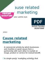 Cause Marketing (1)