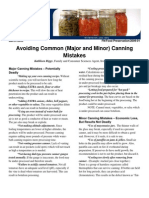 Avoid Common Canning Mistakes-FN Food Preservation 2009-01