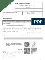 Teste de avaliação diagnóstico 7º ano 2011