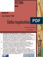Estilos arquitectonicos