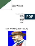Apresentação MAX WEBER