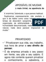 apresentação proposta do governo