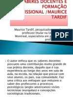 Apresentação Tardif